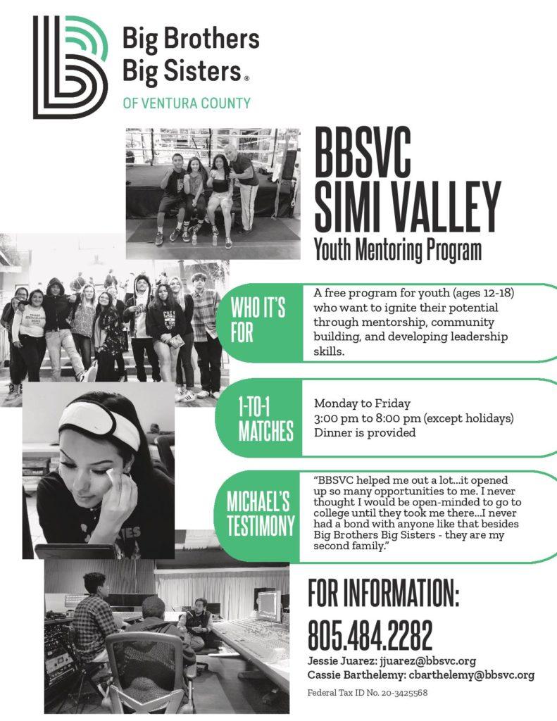 Simi Valley Youth Mentoring Program